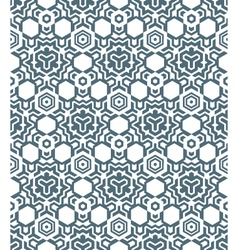 abstract geometric monochrome seamless pattern vector image vector image