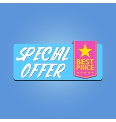 Special offer best price vector image