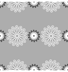 Gray Floral Pattern vector