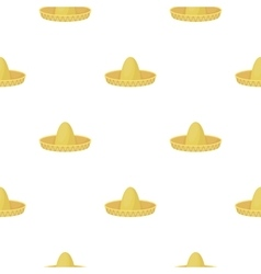 Sombrero icon in cartoon style isolated on white vector image