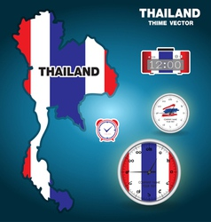 thailand thime vector image