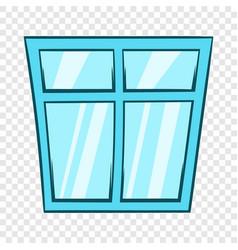Window icon cartoon style vector