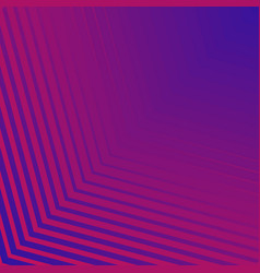 abstract blue and pink neon gradient stripes line vector image