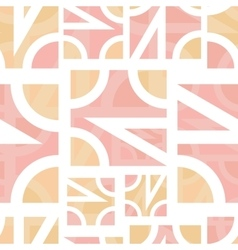 Abstract geometric seamless vector image