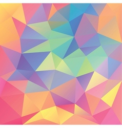 Abstract geometrical polygonal background vector image