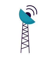 antenna transmission signal vector image