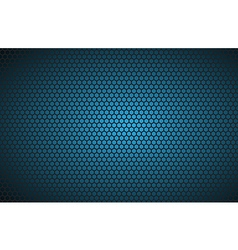 Geometric polygons background abstract blue vector