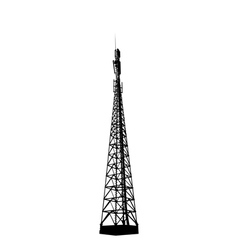 radio or mobile phone base station vector image