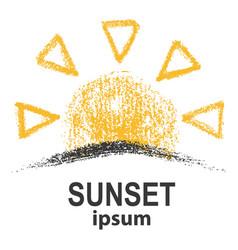 Template for suny logo vector