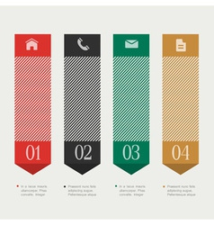 Vertical design template infographics vector image