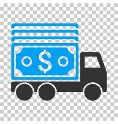 Cash Lorry Icon vector image vector image