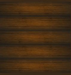 Dark brown wooden planks texture vector