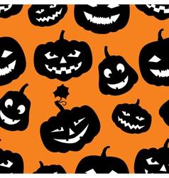 hallowen pattern vector image vector image