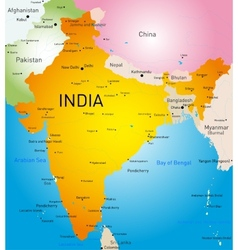 India country vector image vector image