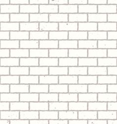 white seamless brick wall vector image