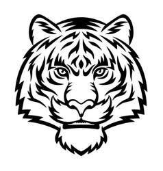 iger head logo vector image