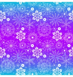 Seamless glowing christmas pattern vector image vector image