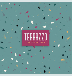 abstract terrazzo texture background background vector image
