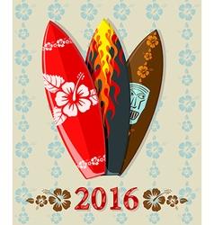 Aloha surf 2016 vector
