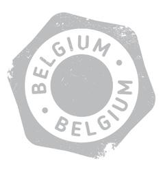Belgium stamp rubber grunge vector