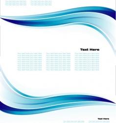 Business brochure background vector