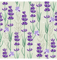 Lavender seamless vector