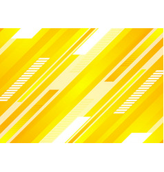 minimal technology bright yellow abstract vector image