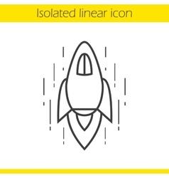 Spaceship icon vector