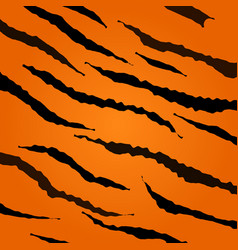 tiger skin pattern vector image