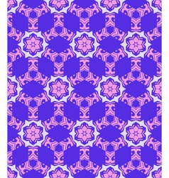 abstract geometric blue violet pink seamless vector image