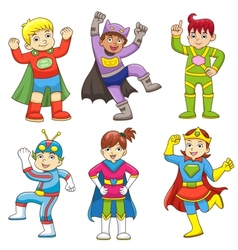 superchild v vector image