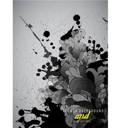 Abstract splash background vector image vector image