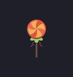 Candy computer symbol vector image