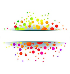 Colorful grunge backgrounds vector image vector image