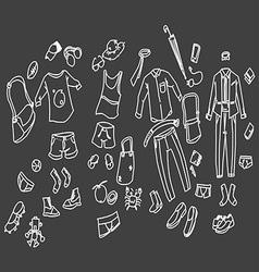 men cloth vector image vector image