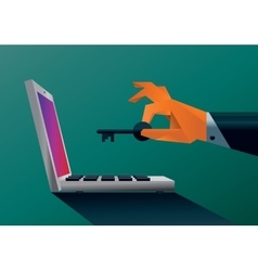 Stealing the data vector image vector image