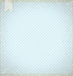 Vintage background with blue diagonal stripes vector image