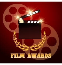 Film Awards Poster vector image