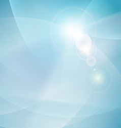 Abstract flow smooth curve and clean background vector
