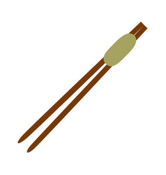 Chinese sticks asian vector