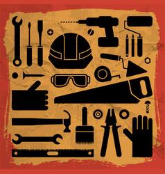 Industrial equipment background vector