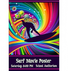 Rainbowsurfer vector