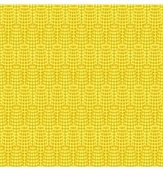 Yellow corn seamless pattern vector