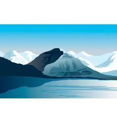 Polar Landscape vector image