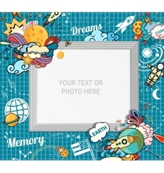 photo frame concept vector image vector image