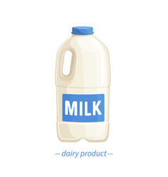 Bootle milk vector