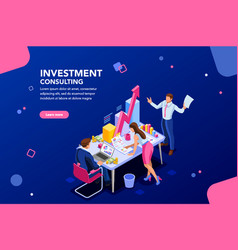 Business template for website vector