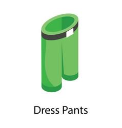 Dress pants vector