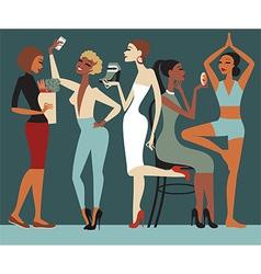 Girls Lifestyle vector image