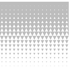 seamless gray and white morphing triangle vector image
